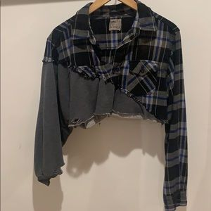 CROPPED LF FLANNEL